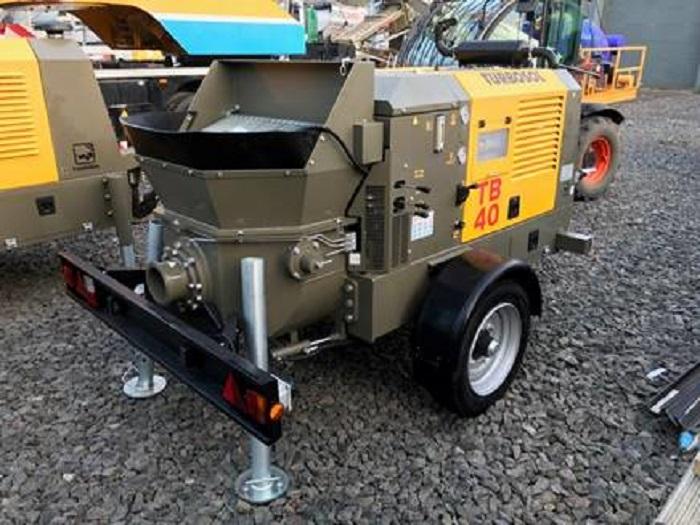 Utranazz unvailes trailer-mounted concrete pump | Pumps Africa